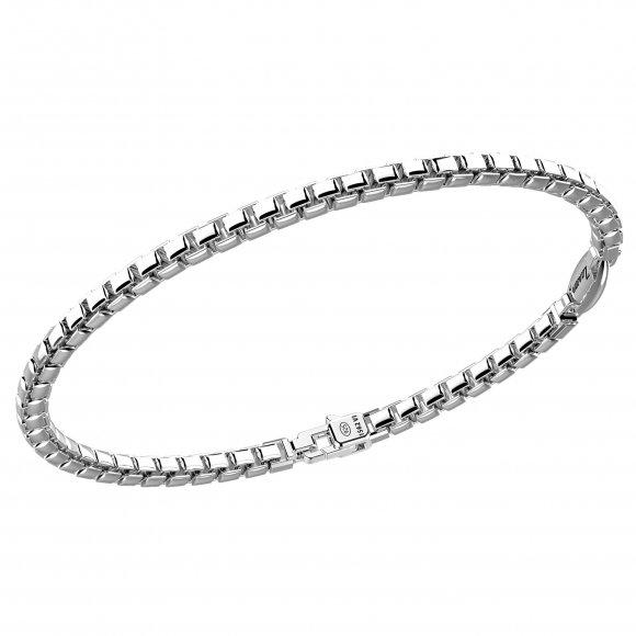 Bracciale Zancan in argento a catena