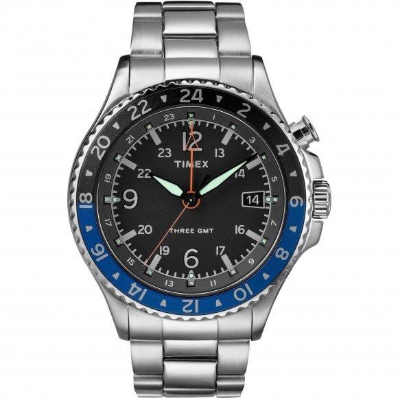 Orologio Timex con cassa rotonda e cinturino in acciaio
