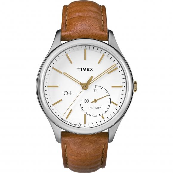 Orologio Timex con cassa in acciaio e cinturino in pelle