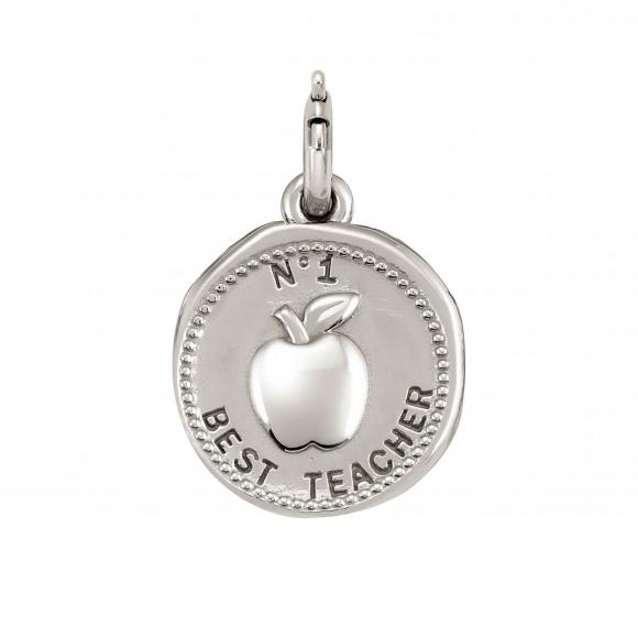 Charm Nomination in argento 925 ''Best Teacher''