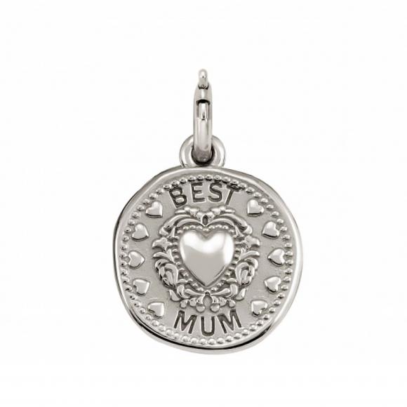 Charm Nomination in argento 925 ''Best Mum''