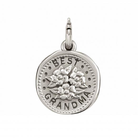 Charm Nomination in argento 925 ''Best Grandma''