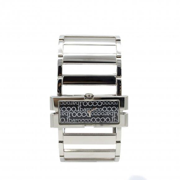 Orologio Roccobarocco modello bracciale con cassa e maglie rettangolari
