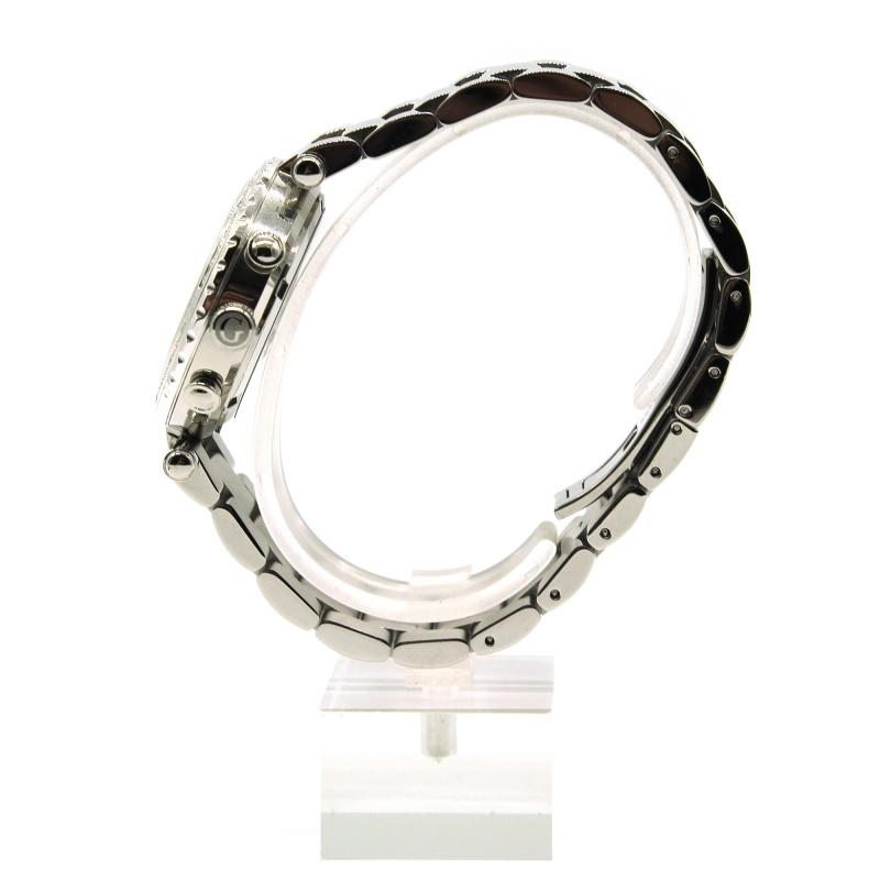 Orologio Gc collection in acciaio con quadrante in madreperla e diamanti