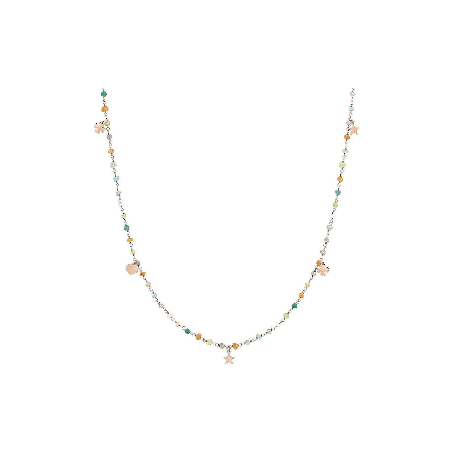 Il meglio del 2019 alta qualità nuovo aspetto Collana Nomination con pietre colorate e ciondoli pendenti