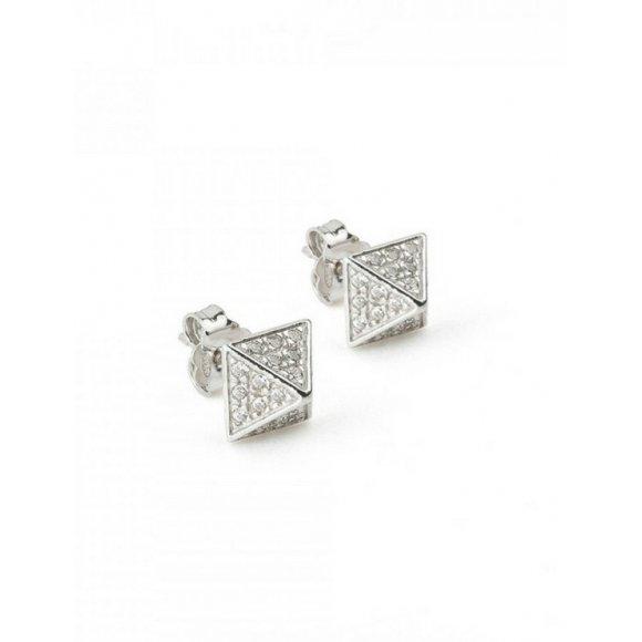 Orecchini triangolo Jack & co in argento