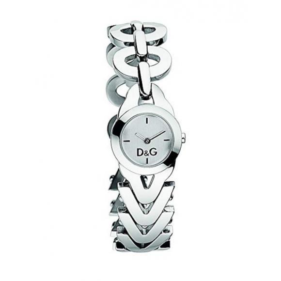 Orologio Dolce e Gabbana con cinturino in acciaio a doppia lavorazione