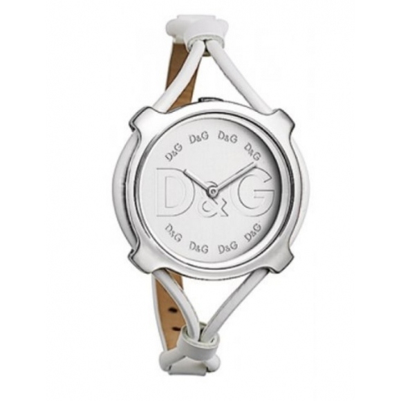 Orologio Dolcce & Gabbana con cinturino in caucciù e cassa rotonda con logo