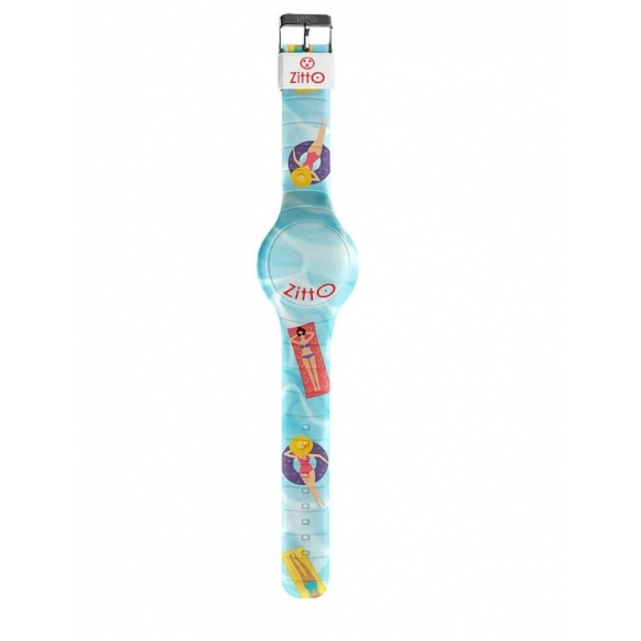Orologio Zitto digitale cassa 36 mm in silicone con fantasia gonfiabili